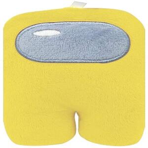 Peluche plano personaje amarillo Among Us