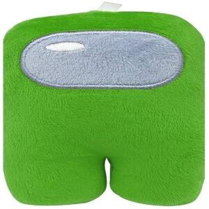 Peluche plano personaje verde Among Us
