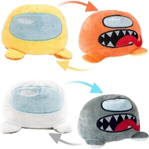 Peluches reversibles Among Us