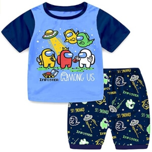 Pijamas con diseños de Among Us