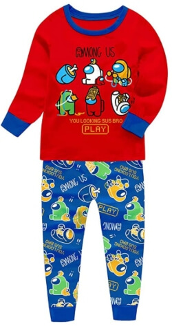 Pijamas de Among Us