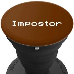Pop socket impostor marron Among Us