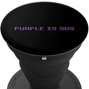 Pop socket purple is sus fila Among Us