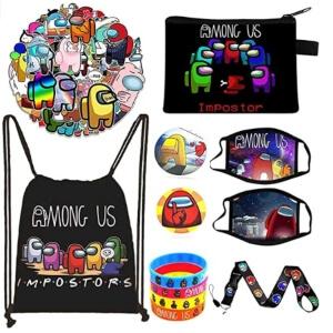 Productos de los sets de regalo de Among Us