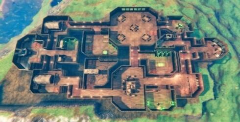 Recreación de un mapa de Among Us en Valheim