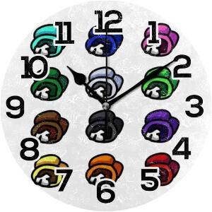 Reloj de pared cadaveres Among Us