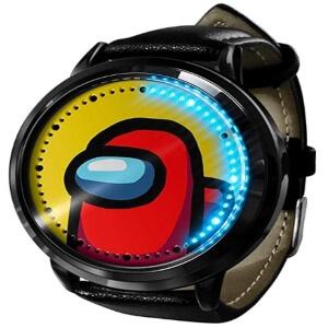 Reloj digital personaje rojo Among Us