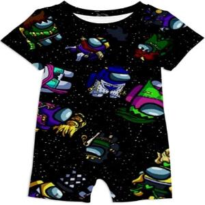 Ropa bebe personajes en el espacio Among Us