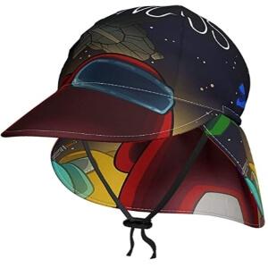 Sombrero de sol personajes de Among Us
