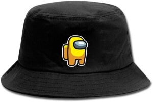 Sombrero personaje amarillo Among Us