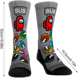Tamaño calcetines Among Us