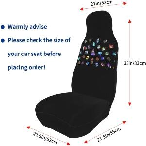 Tamaño de las fundas para asientos de Among Us