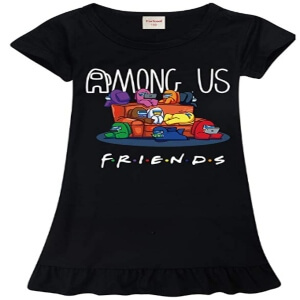 Vestido friends de Among Us