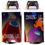 Vinilos adhesivos playstation 5 Among Us